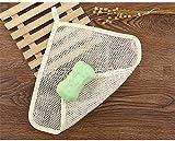 DAN SPEED 5PCS Sapone Borsa Doppio Strato di Schiuma Bubble Net Soft-Weave Body Wash Bagno Massaggio esfoliante Viso Panno