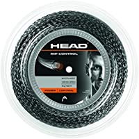 Head Rip Control 03/04 - Rollo de cordajes, Color Negro, Talla 16