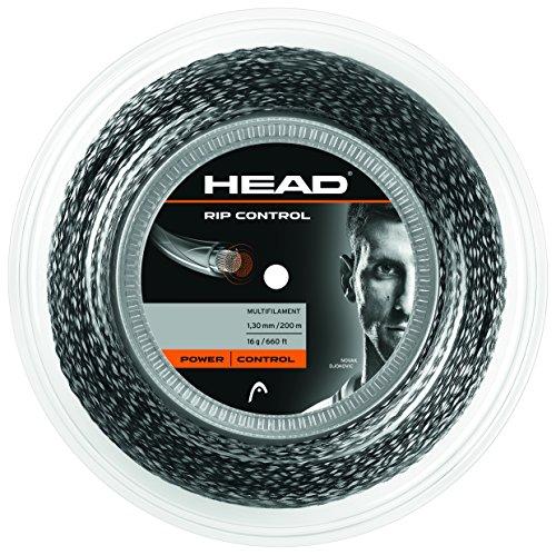 Head 281109 17 BK Rip Control Cordage pour raquette de tennis Noir 200 m
