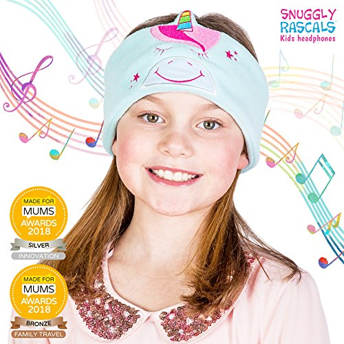 Snuggly Rascals (v2) Kids Headphones - Headphones for Kids - Ultra-Comfortable, Size Adjustable and Volume Limited - Great for Travel & Use with Children's Tablets and Smartphones - Suitable for Girls Best Price and Cheapest