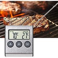 Redxiao Thermomètre à Viande, sonde de température Longue 19,3 cm / 7,6 Pouces Plus Pratique à Utiliser Thermomètre de…