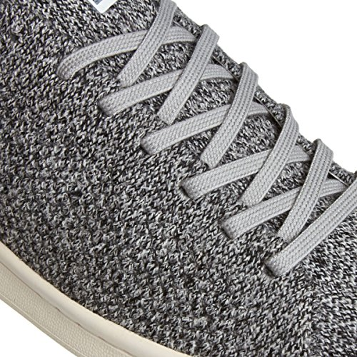 Adidas Originals Trainers - Adidas Originals Stan Smith Primeknit Shoes - Solid Grey/White Grey