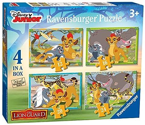 Ravensburger 71586 - Disney Die Garde der Löwen - 4 in 1 Puzzle-Box [UK Import]