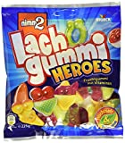 nimm2 Lachgummi Heroes – Spaßiges Fruchtgummi mit Vitaminen – 15er Pack (15 x 225g)