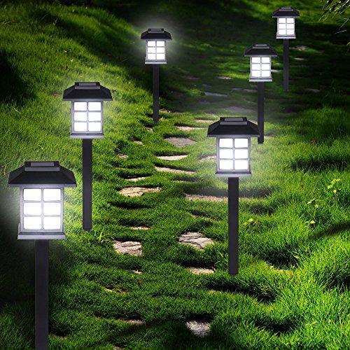 Set de 6x lampes solaires LED Lumière pour jardin balon terrasse