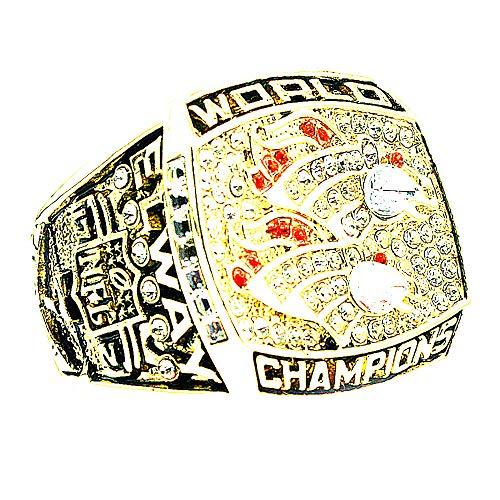 Golden Jahr 1998 Diamant Broncos Meisterschafts Ringe Der Männer,Größe 70 (22.3)