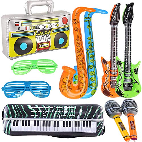 Yojoloin 10PCS Inflatable Guitar...