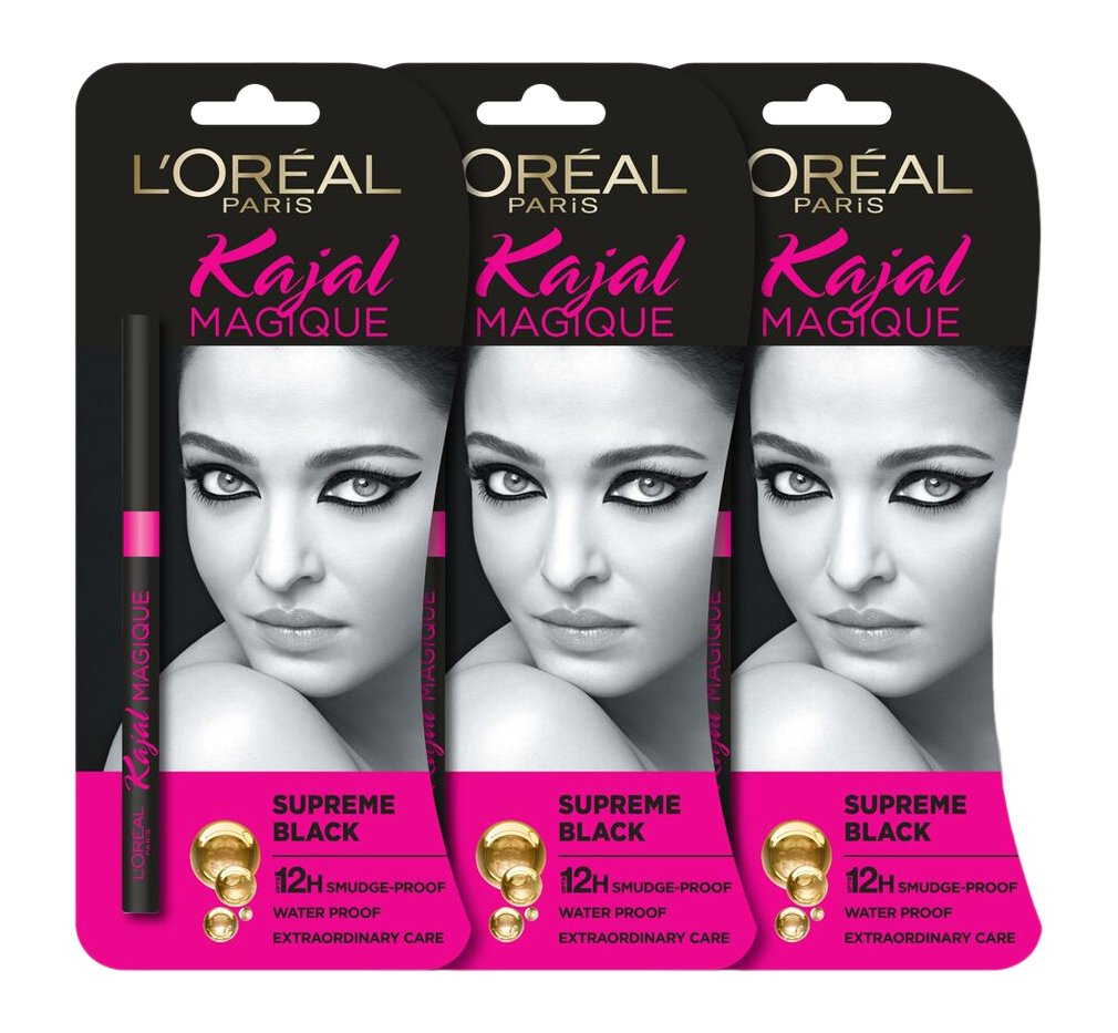 Loreal hair color quiz - Buy L Oreal Paris Magique Kajal 0 35g Pack Of 2 Online At Low Prices In India Amazon In