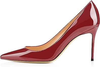 EDEFS - Scarpe con Tacco Donna - Tacco A Spillo 8 CM - Scarpe da Donna
