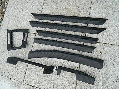 Dekorleisten Interieurleisten E46 Carbon 3D Struktur Folien Set schwarz