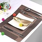KAKOO 12 Stück Serviettenringe Set, Metal Rose Morderne Serviettenhalter für Hochzeit Geburtstag Weihnachten Taufe Tisch Dekoration (golden) - 4