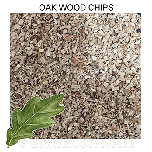 5 Litre Tub Oak Wood Chips / Wood Dust for Hot Smokers / Smoking Ovens / BBQ