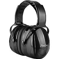 ProCase Casque Anti Bruit Adulte Réglable Confortable, avec Une Atténuation de SNR 38dB, pour Milieu Bruyant ou Stressant-Noir