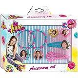 Soy Luna Soy Set de Accesorios para Pelo y Caja, Unica (Kids Euroswan WDSL040)