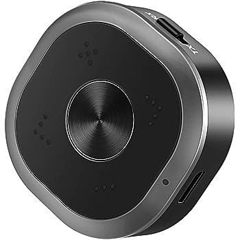 Trasmettitore e Ricevitore Bluetooth 5.0, ESOLOM 2-in-1 Adattatore Wireless (A2DP+EDR, aptX Bassa Latenza, Doppia Associazione) con 3.5mm Cavo Audio & RCA per Cuffie, Altoparlanti, Stereo Home TV