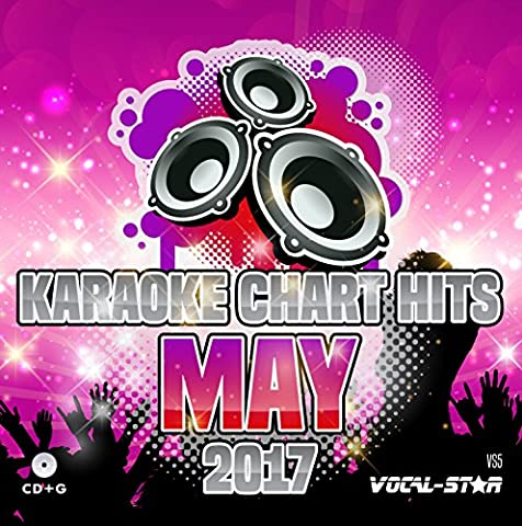 Karaoke 2017 Chart Hits CDG CD+G Disc - 18 Songs on 1 Disc Including The Best Ever Karaoke Tracks From May 2017 (Ed Sheeran ,Lady Gaga,Shawn Mendes and much more) From Vocal-Star