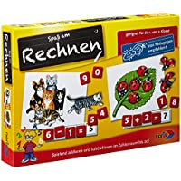 Noris Spiele 606076341 - Rechnen (1.+2. Klasse), Kinderspiel
