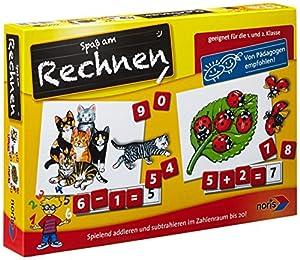 Noris Spiele 606076341 Rechnen - Juego Infantil para Aprender a Contar (versión en alemán)