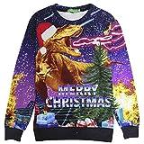 Hässlicher Spandex Christmas Pullover