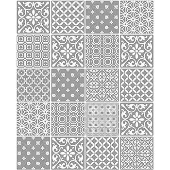 Fine decor ceramica tapete fd41464 k che badezimmer marokkanische fliesen grau for Fliesen tapete badezimmer