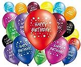 """FABSUD Luftballons, mit """"Happy Birthday""""-Aufschrift, 20 Stück"""