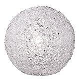 Wofi Tischleuchte, 1-flammig, ø 20 cm, weiß 826401060200