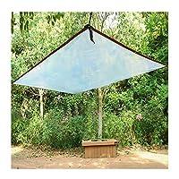مشمع زجاج مشمع شفاف مقاوم للماء شديد التحمل والفناء في الهواء الطلق غطاء حلقة معدنية ثقوب حماية ضد الغبار ضد المطر، 24 حجم (اللون: شفاف، الحجم: 3.0 × 4.0 متر)