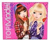 TOPModel 8094–Freundebuch Carnet d'amitié Motif 2Rose