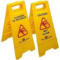 Professional Wet Floor Sign - Cleaning In Progress/Caution Wet Floor