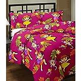 SVT Dora cartoon print DOUBLE BED revers...