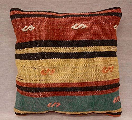 ETFA Kelim Kissen Kissenbezug Kissenhülle cushion cover pillow 40x40 cm 3514