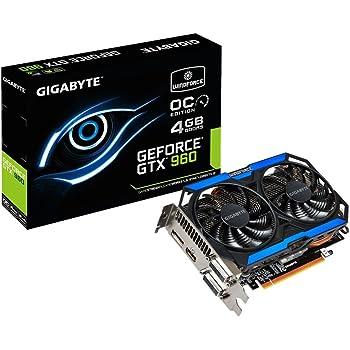 Gigabyte GeForce GTX 960 4GB GDDR5 PCiE Video Card Graphics Cards GV-N960OC-4GD