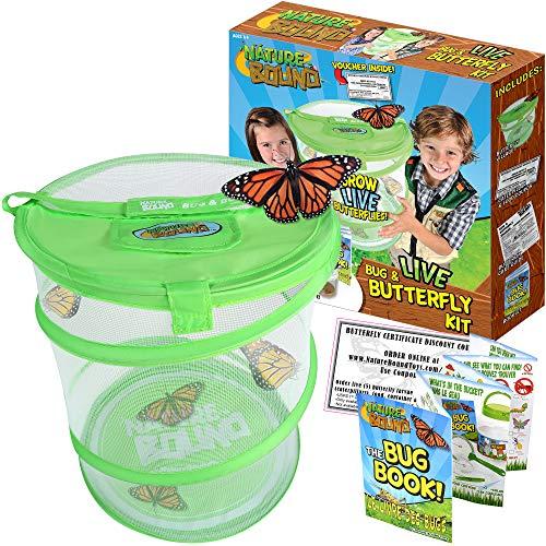Nature Bound Bug & Schmetterling Village Habitat Kit (Live-schmetterling-kit)