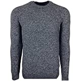 Ted Baker Monroe Textured Crew Neck Knitted Jumper Charcoal