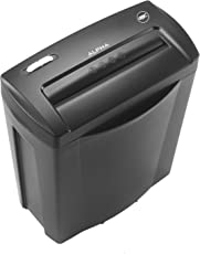 GBC Alpha Confetti Paper/Credit Card Cross Cut Shredder with 5 Sheet Capacity and 14L Bin