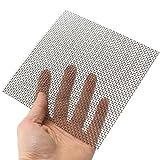 Generic Moustiquaire en acier inoxydable 304 10 mailles 15 x 15 cm