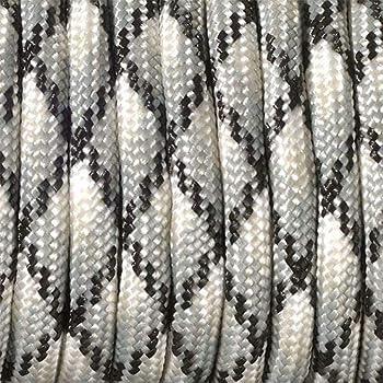grigio /Mix di colori 550/Paracord corda efco/ misto poliestere 4/mm x 4/m