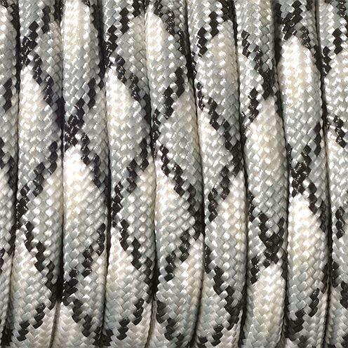 efco–Mix di colori 550Paracord corda, misto poliestere, grigio, 4mm x 4m