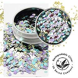 Ecostardust Aurora biodegradabile glitter ✶ festival Bioglitter cosmetici viso corpo capelli unghie