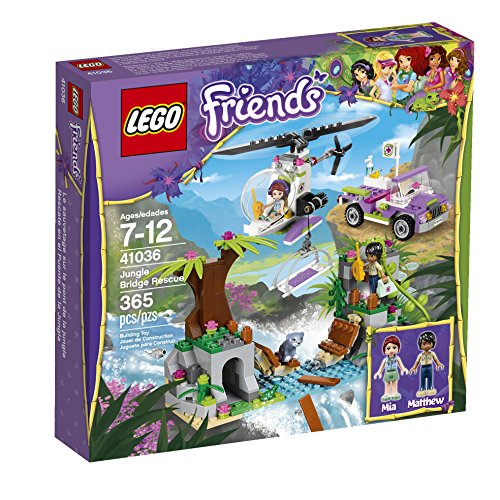 LEGO Friends Jungle Bridge Rescue 41036 Building Set by LEGO (Lego Rescue Set)