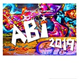 DigitalOase Glückwunschkarte ABI 2019 ABITURSPRÜFUNG A5 Gratulationskarte Grußkarte #GRAFFITY