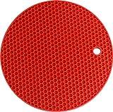 Silicone Coaster Honey Comb (Red) Premiu...