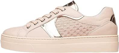 Nero Giardini E010672D Sneakers Donna in Pelle E Tela