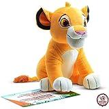 Peluche Simba - El Personaje de Dibujos Animados más Famoso de Nuestra Infancia. Material de Calidad y Seguro (Hakuna Matata
