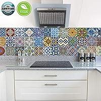 FoLIESEN 2272050 - Mattonelle adesive per Cucina e Bagno, Motivo ...