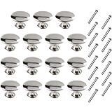Huture Set van 15 laden knoppen kast knoppen ronde meubelknoppen commodes knoppen knop pull knop meubelgreep afgeronde antiek