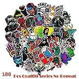 Inveroo 100 Unids/Pack Estilo Clásico Pegatinas De Graffiti para Moto Coche & Maleta Cool Laptop Pegatinas Pegatina De Skateboard