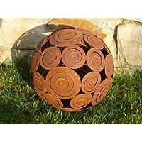 """Sensiolo DM11226 - Sfera decorativa """"Spira"""", metallo brunito, 28 cm"""