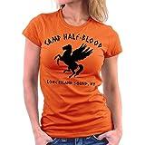 Million Nation Camp Halfblood Camiseta para mujer