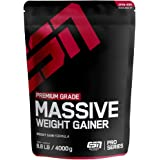 ESN Massive Weight Gainer - 4000g - Chocolate Cream - vollwertiges Kohlenhydrat-Protein-Pulver – wertvolle Zutaten – 26…
